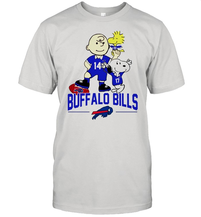 Snoopy and Charlie Brown Buffalo Bills shirt