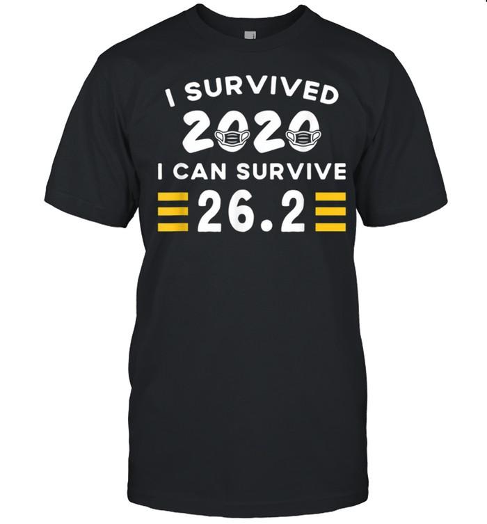 I Survived 2020 I Can Survive 26 2 Marathon Running shirt