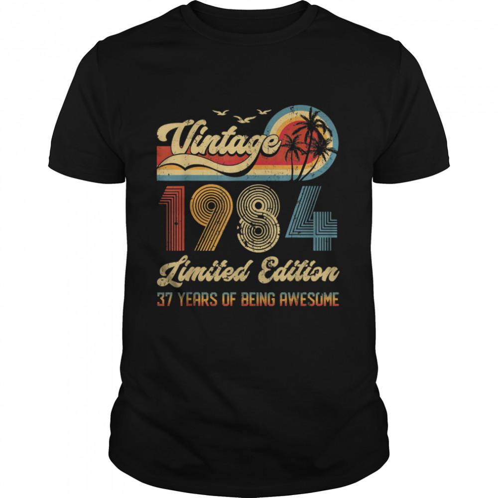 Vintage 37 Year Old 1984 shirt