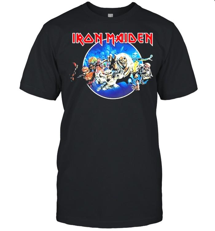 Iron Maiden 'Wasted Years Circle' shirt