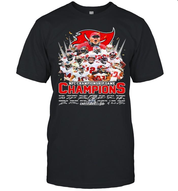 Nfc Championship Game Champion Signature Tampa Bay Buccaneers shirt