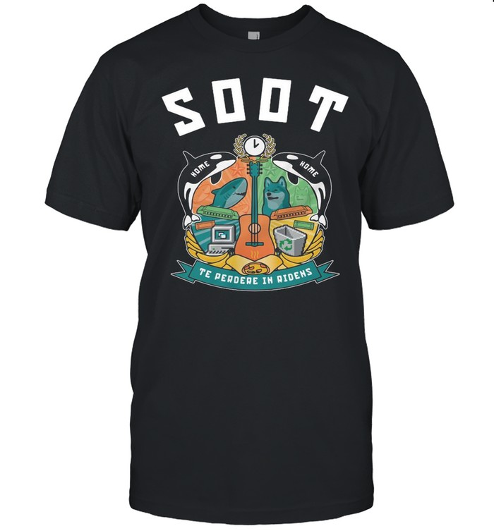 Wilbur Soot Merch Soot College Technicolour shirt