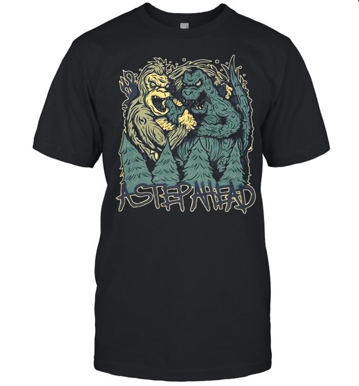Nice Akong Vs Godzilla Super shirt