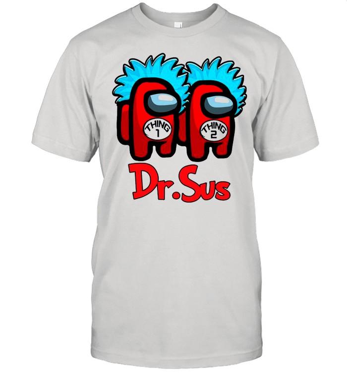 Dr.Sus Couple Among Us Impostor shirt