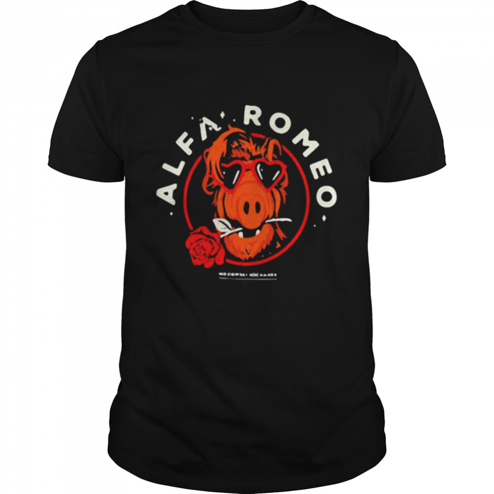 Alfa Romeo Rose shirt
