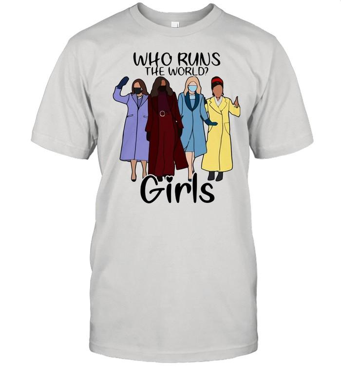 Kamala Harris Amanda Gorman who runs the world girl shirt