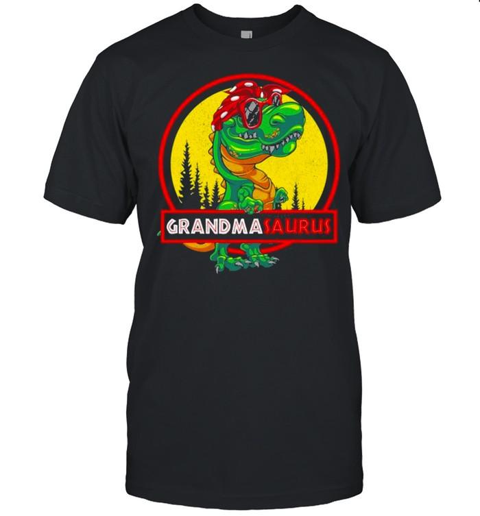 Grandmasaurus T Rex Grandma Saurus Dinosaur Family Matching shirt