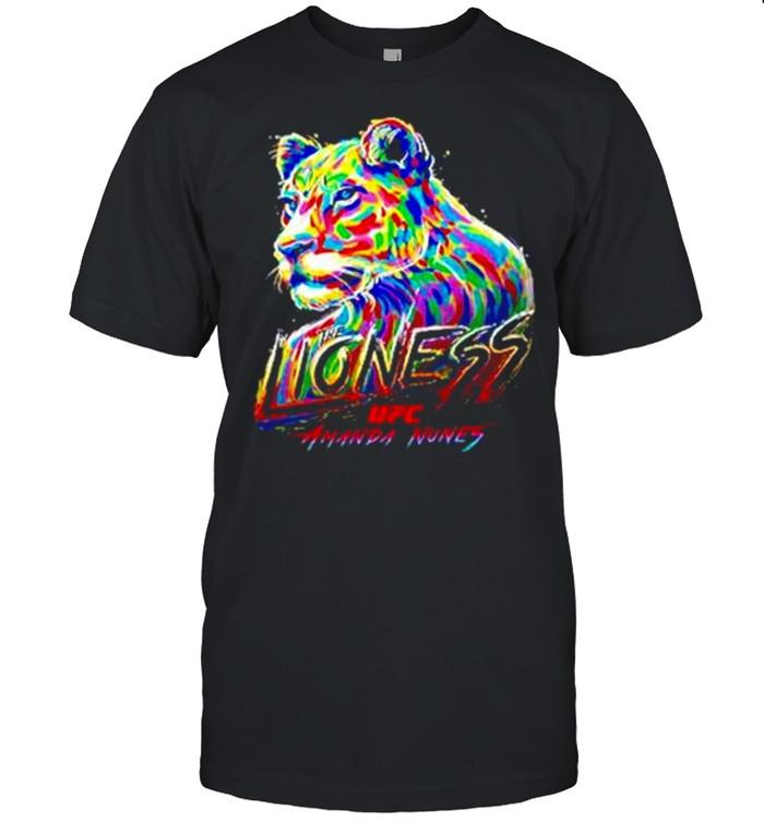 Amanda nunes Lionees UFC shirt