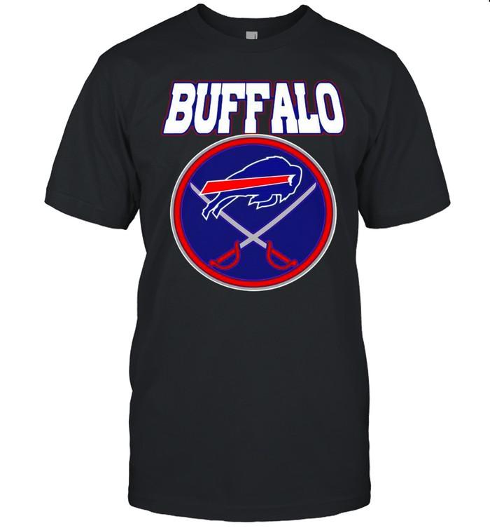 Buffalo Bills Buffalo Sabres X Bills Mash-up shirt