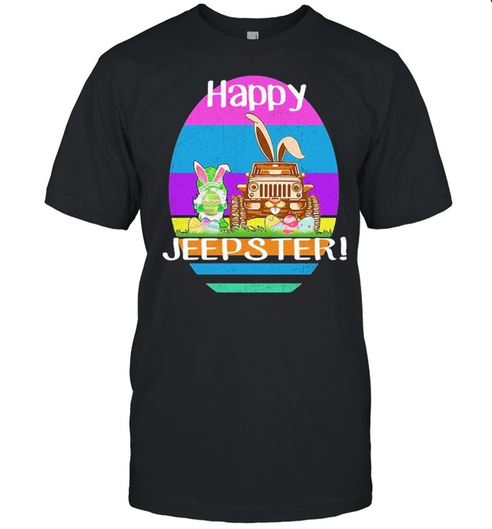 Gnome And Jeep Happy Jeepster Easter shirt