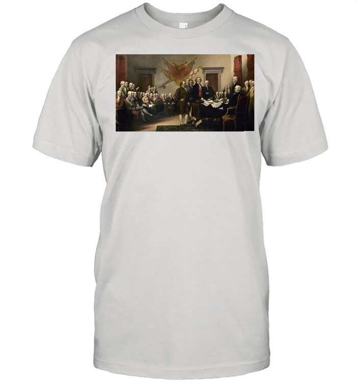 Signing Declaration Of Independence Signing T-shirt