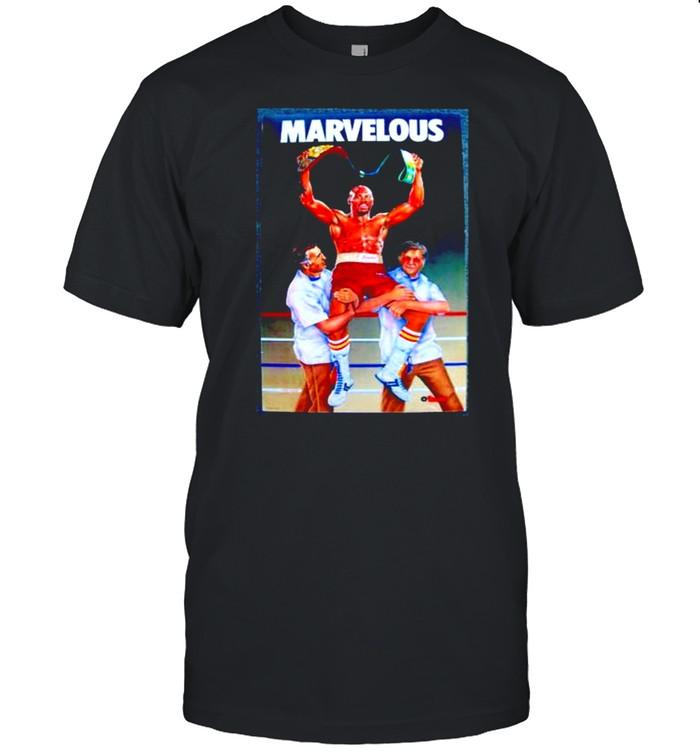 Marvin hagler win shirt