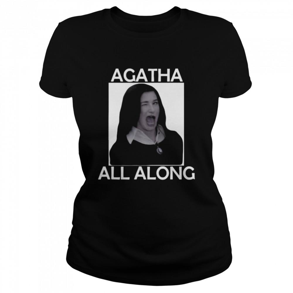 Agatha All Along Marvel Wandavision Mini Series  Classic Women's T-shirt