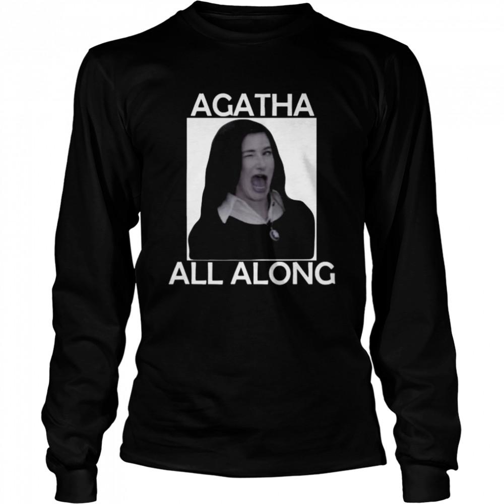 Agatha All Along Marvel Wandavision Mini Series  Long Sleeved T-shirt