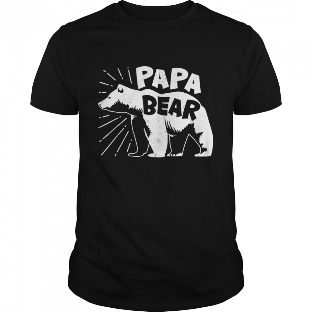 Papa Bear Best Dad Fathers Day Father shirt