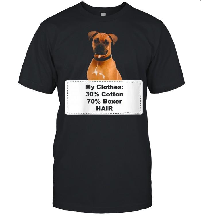 Shedding Dog Boxer shirt