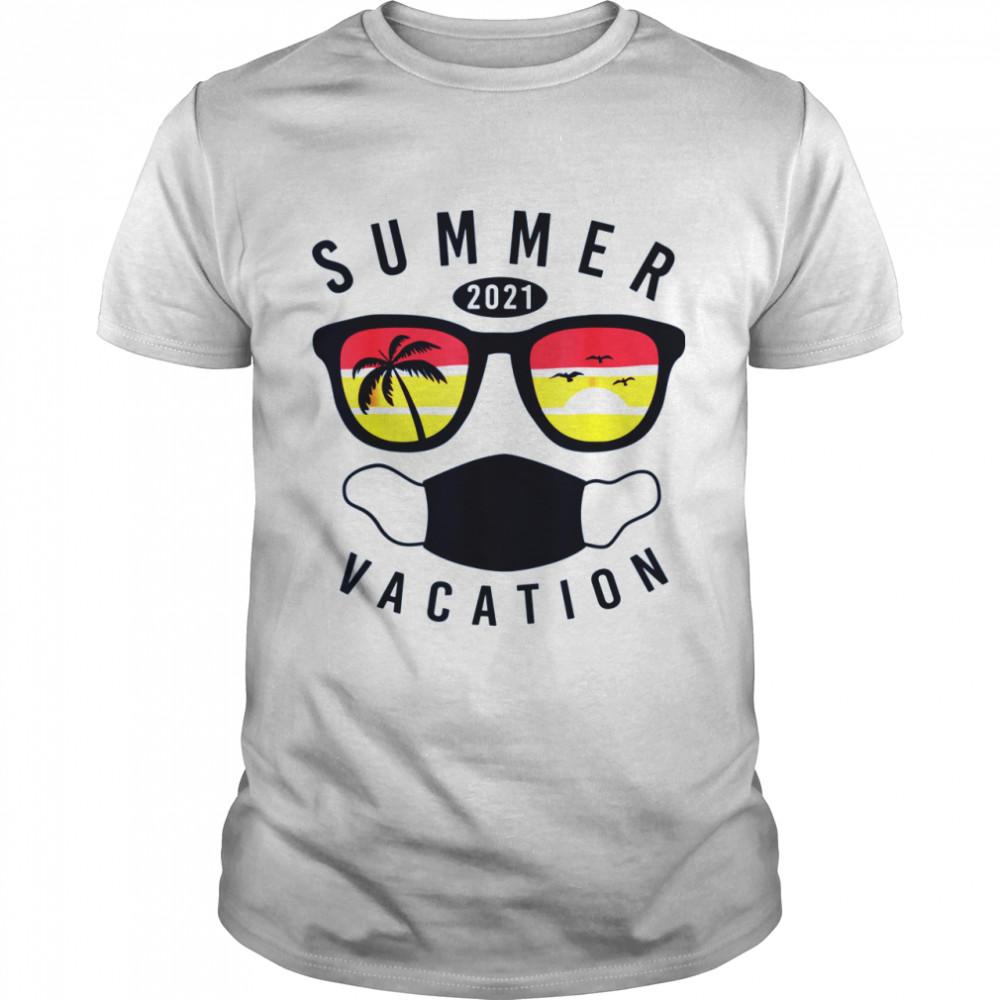 Summer Vacation 2021 in Quarantine Matching Family shirt