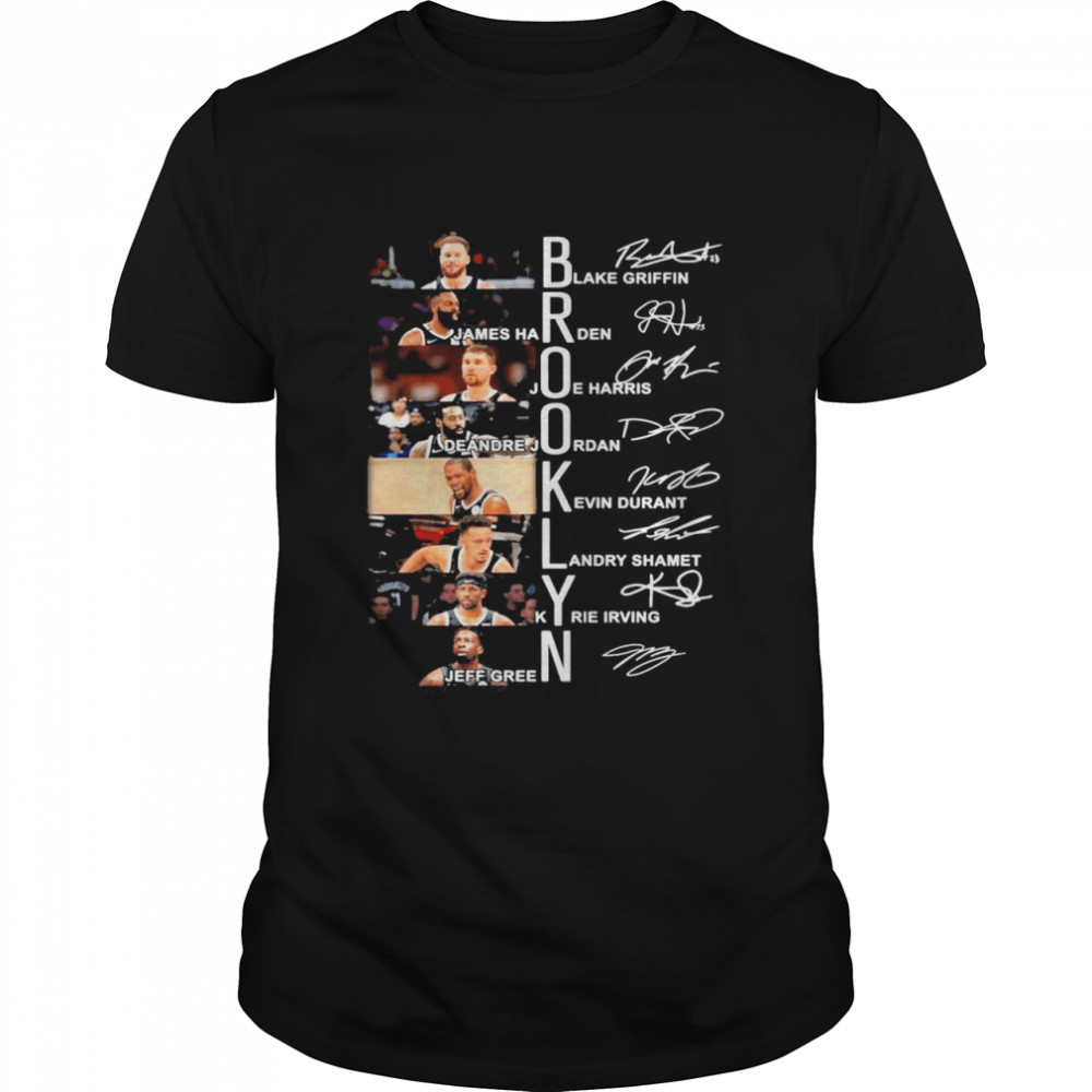 Brooklyn Blake Griffin James Harden Signatures Shirt