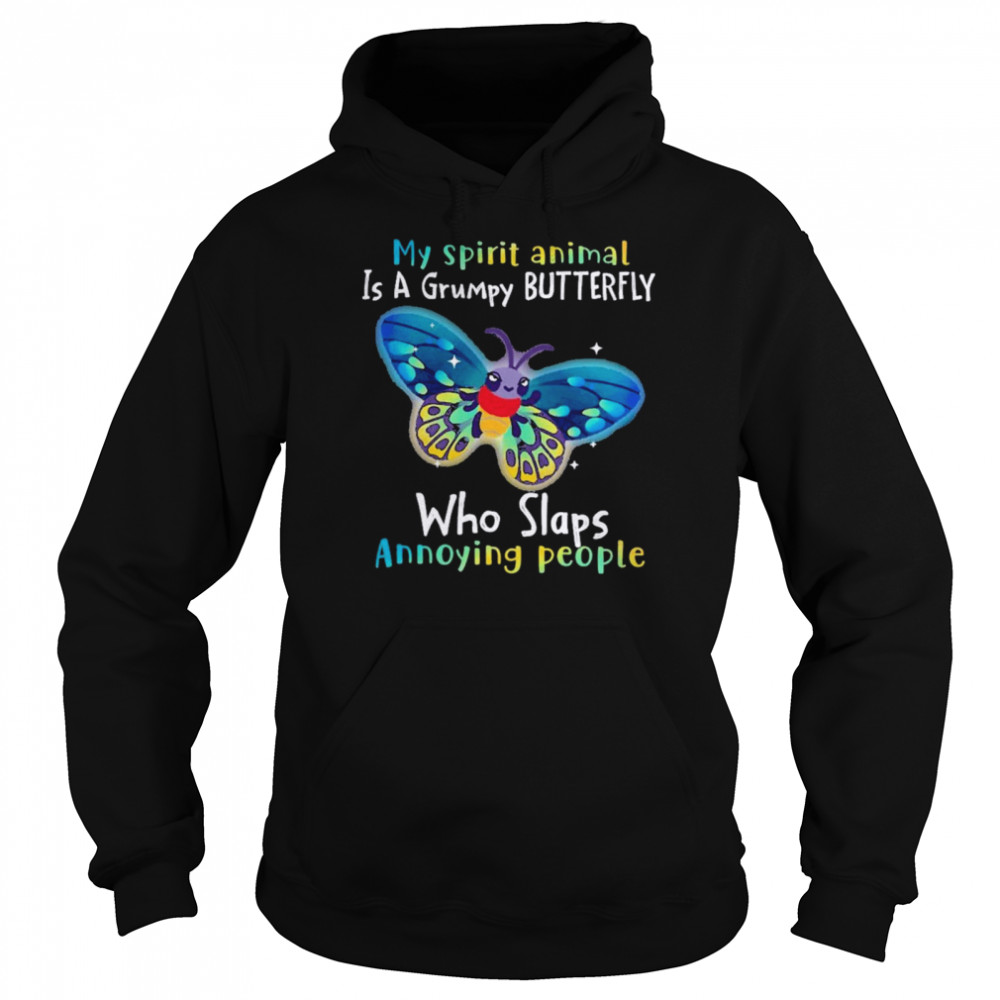 Butterfly Annoying People Insects Bugs Lovers  Unisex Hoodie