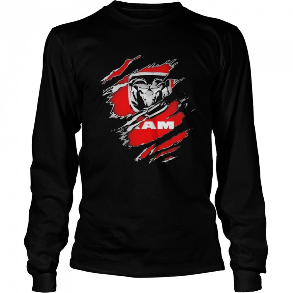 Logo Ram Trucks  Long Sleeved T-shirt