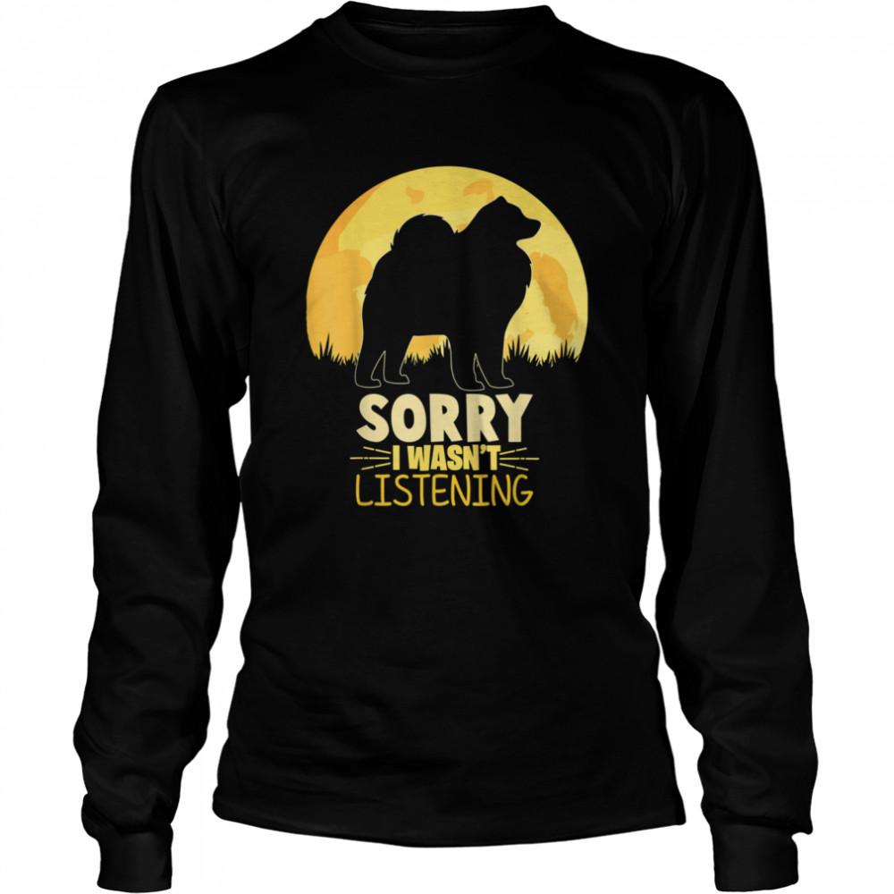 Vintage Samoyed shirt Long Sleeved T-shirt