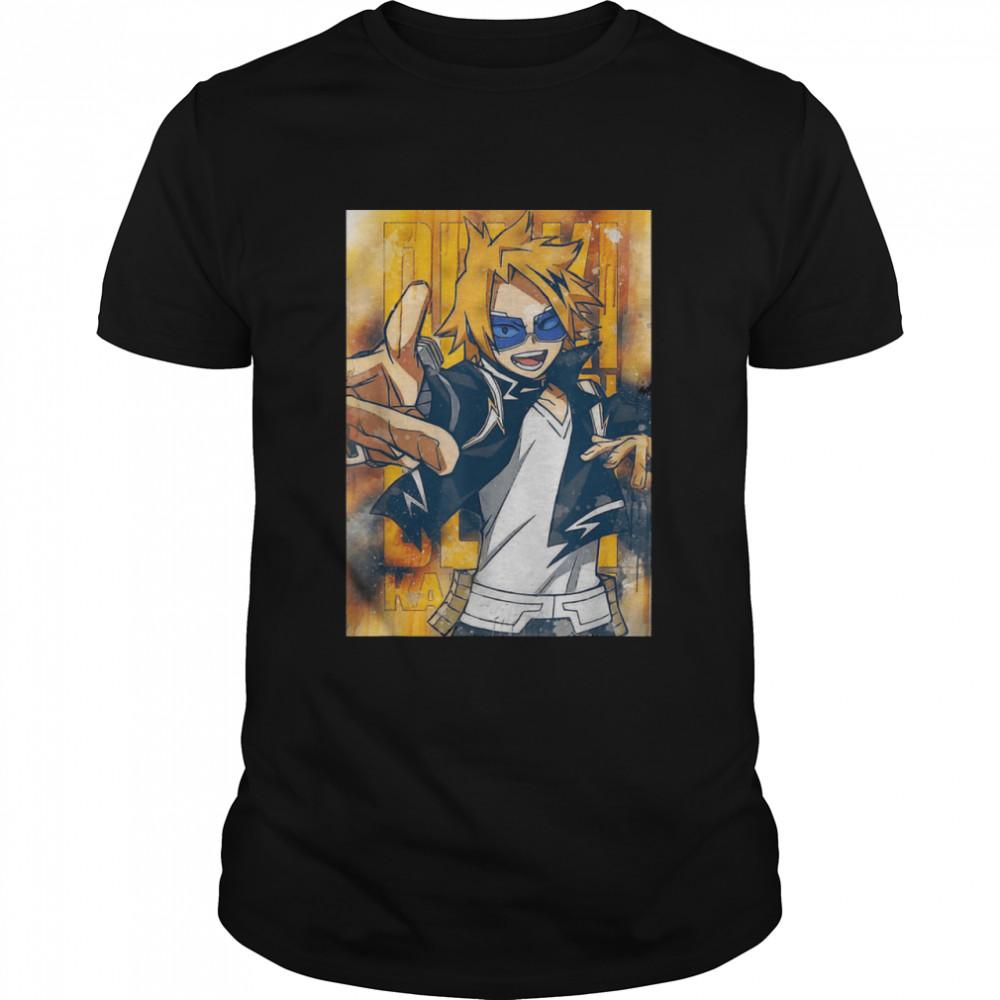 Academia My Hero Kaminari Love shirt