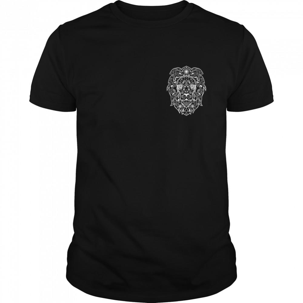 Lion Fancy artistic shirt