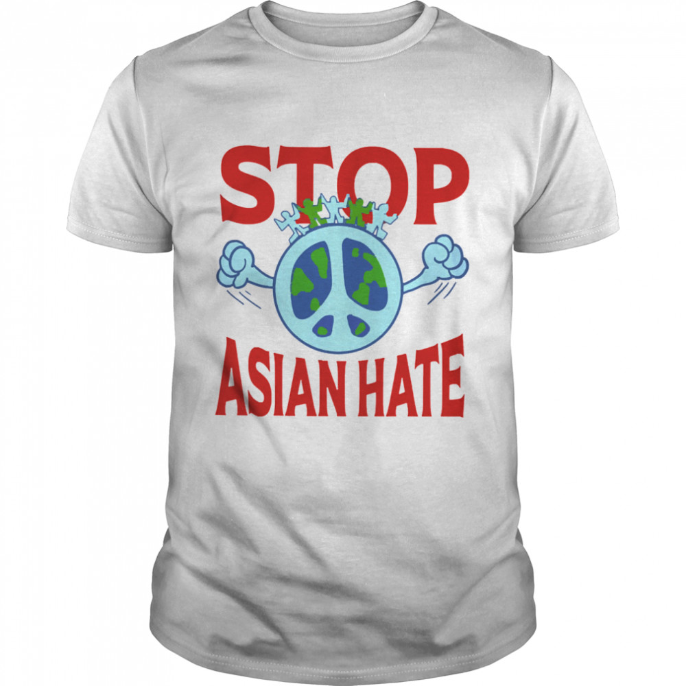 Stop asian hate tshirt
