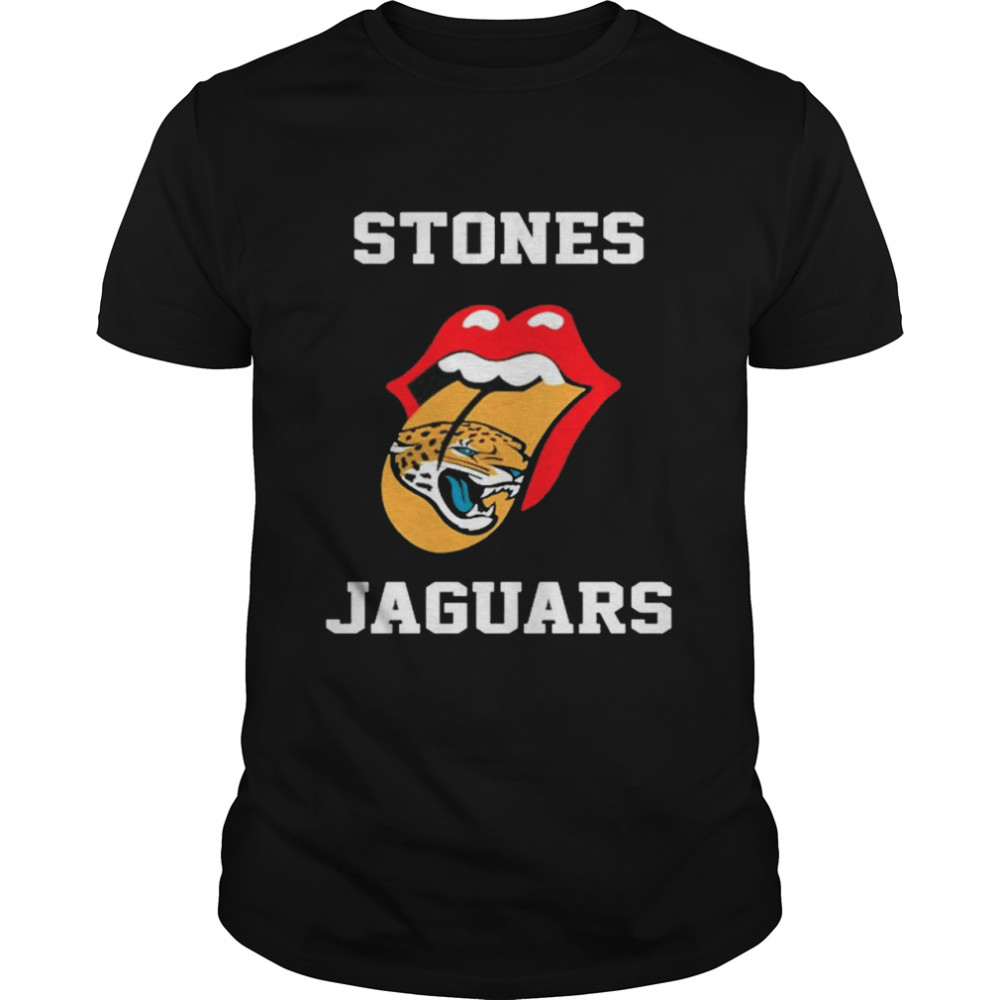 The Rolling Stones Jacksonville Jaguars lips shirt