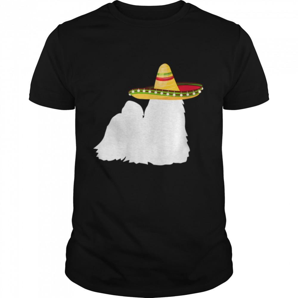 Shih Tzu Sombrero Cinco De Mayo Dog Shirt