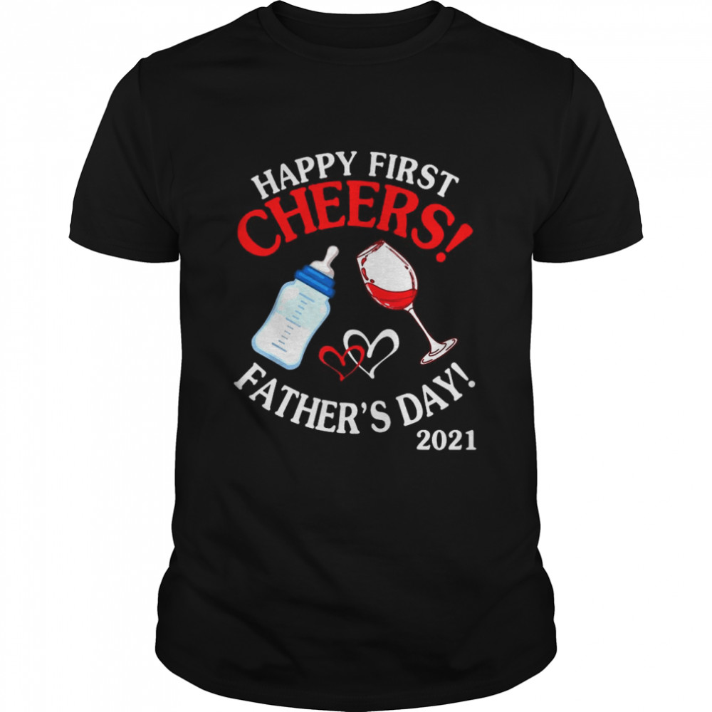 Happy first chers fathers day 2021 shirt