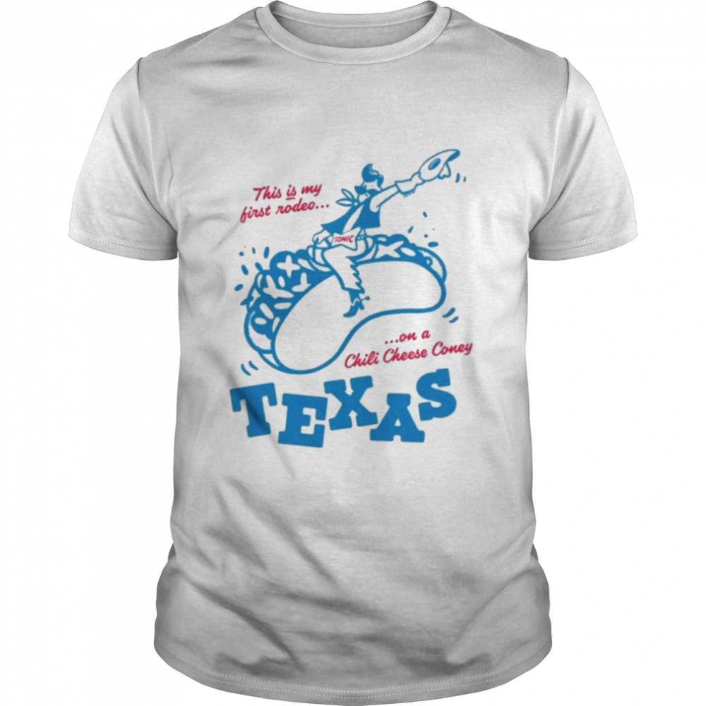 Sonic Texas drive in state Classic shirt