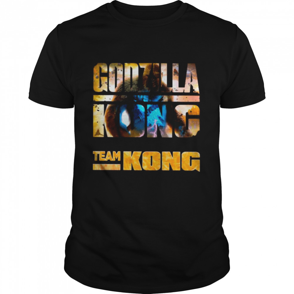 The Godzilla Vs Kong With Team Kong Lose shirt