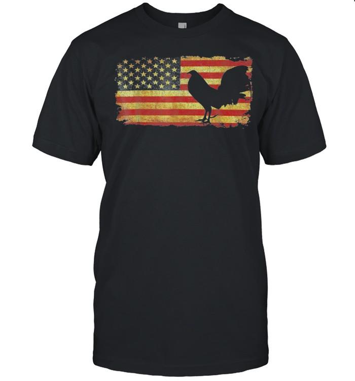 Chicken American Flag 2021 shirt