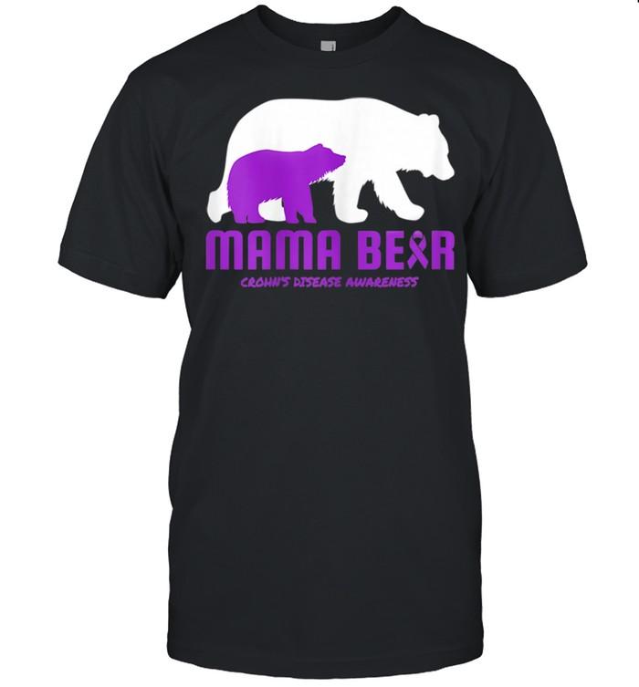 Crohn's Disease Mom Mother Mama Awareness shirt