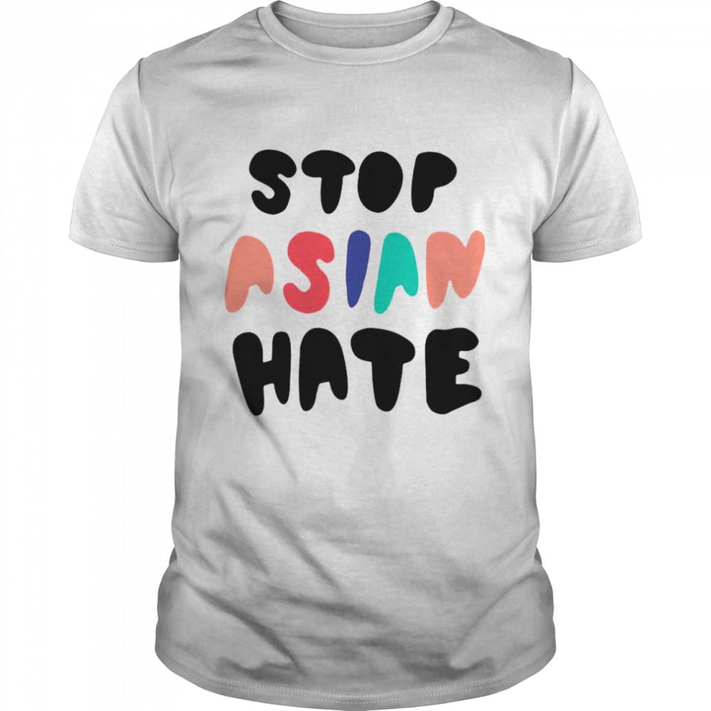 Damian Lillard Flavours Stop Asian Hate #Black Lives Matter shirt