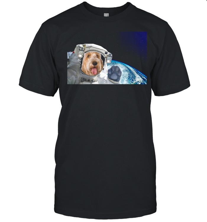 Dog in Space Petits Bassets Griffons Vendeen Shirt
