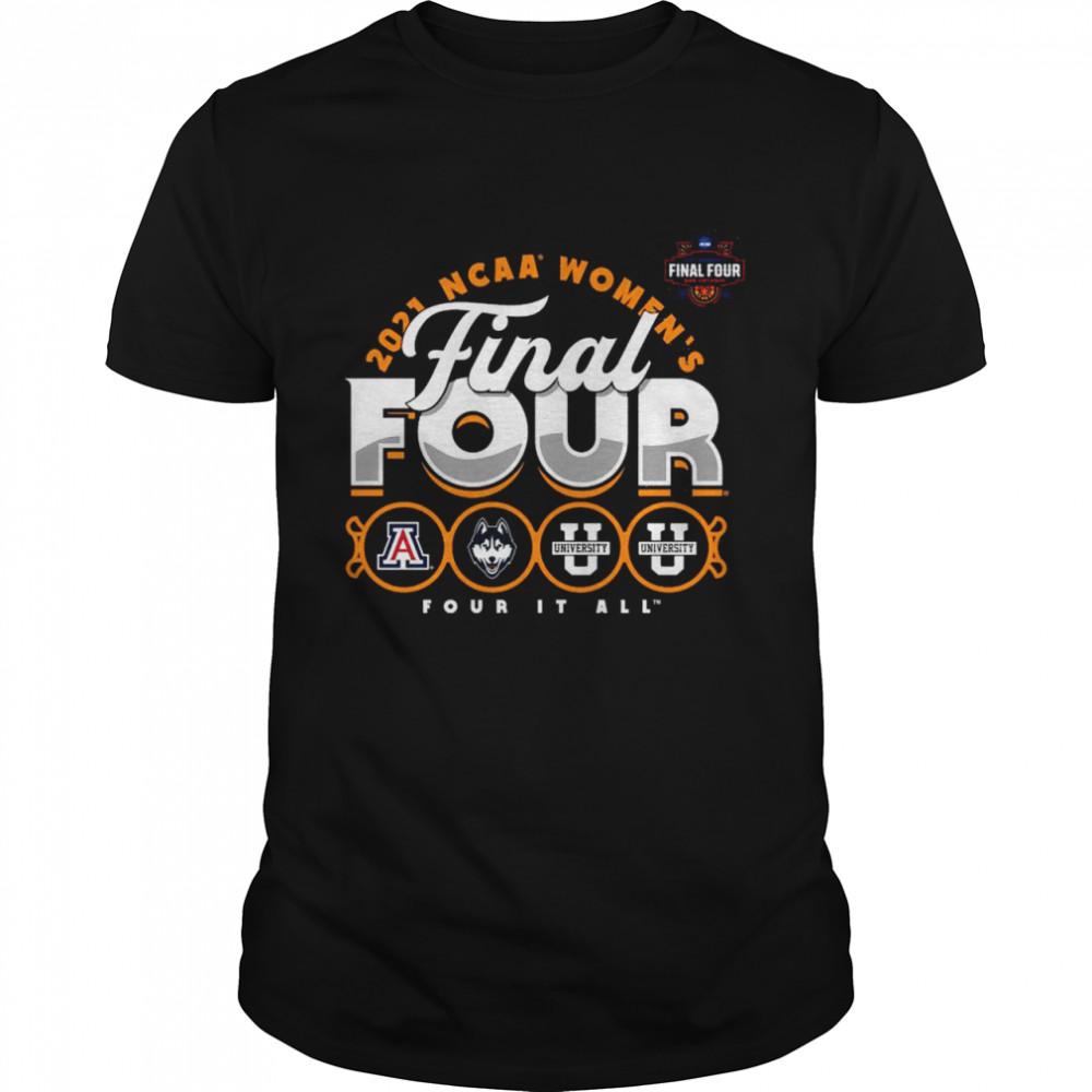 Fanatics Branded 2021 NCAA Women's Basketball Tournament March Madness Final Four Bound Inbound shirt