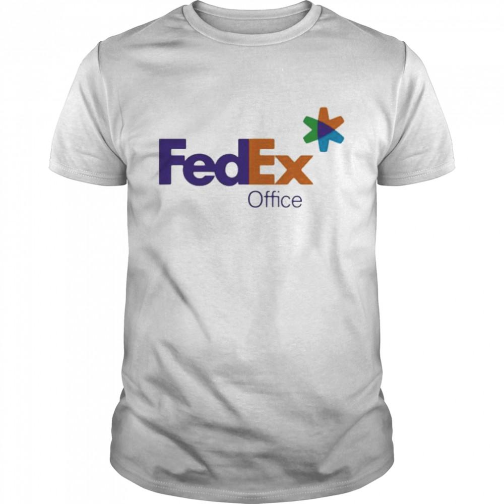 Fedex Office Logo Purple Orange Shirt