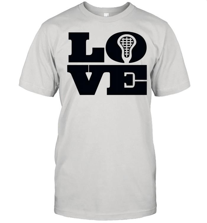 Lacrosse Big Love LAX Head Perfect for Girls & Shirt