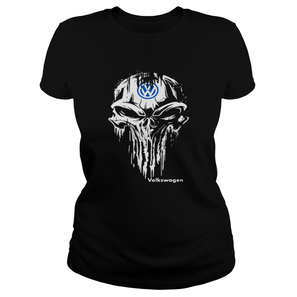 Punisher With Logo Volkswagen  Classic Women's T-shirt