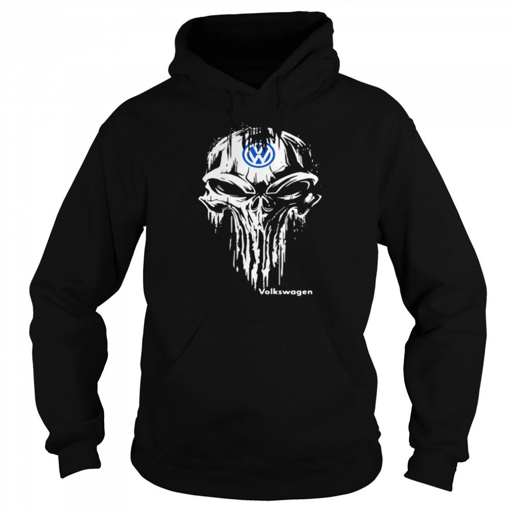 Punisher With Logo Volkswagen  Unisex Hoodie