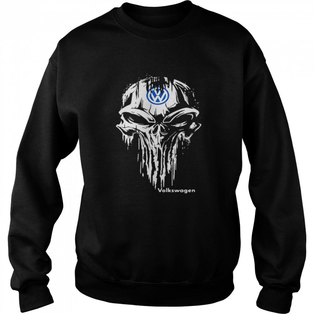 Punisher With Logo Volkswagen  Unisex Sweatshirt