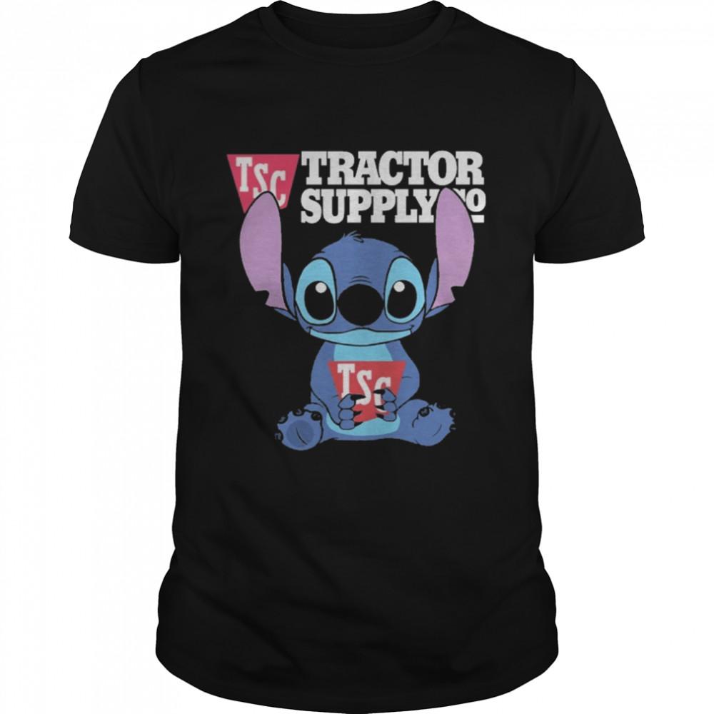 Stitch hug TSC tractor supply co shirt