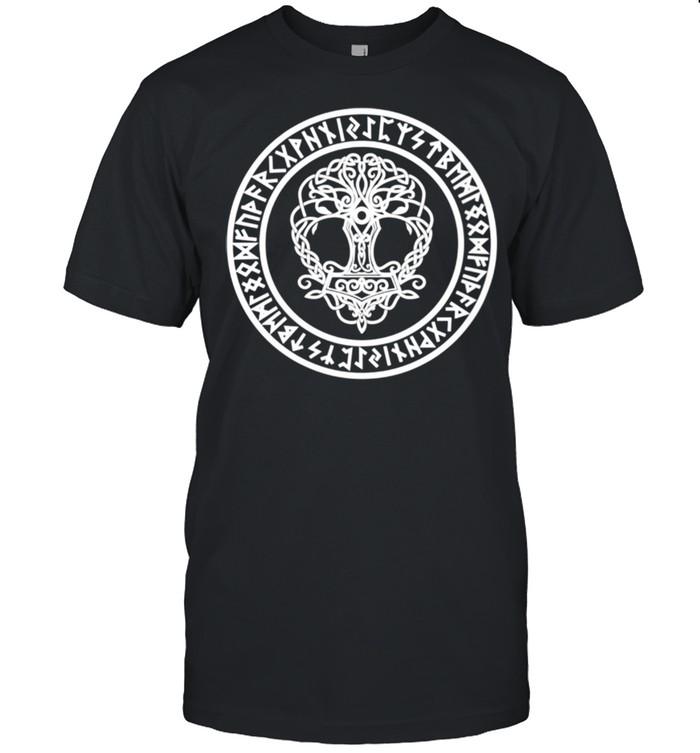 Yggdrasil Viking Symbol Sacred Tree Norse Mythology Shirt