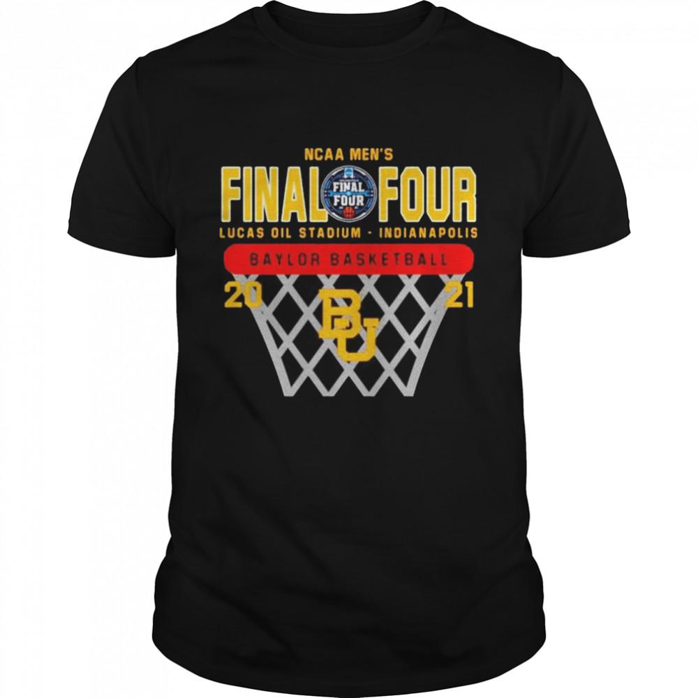 2021 Baylor Bears NCAA men's final four Lucas oil stadium Indianapolis Baylor basketball shirt