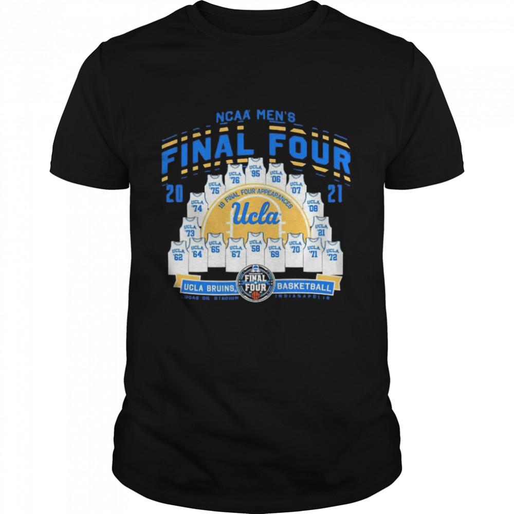 2021 NCAA Men's Basketball Tournament March Madness Final Four UCLA Bruins Basketball shirt