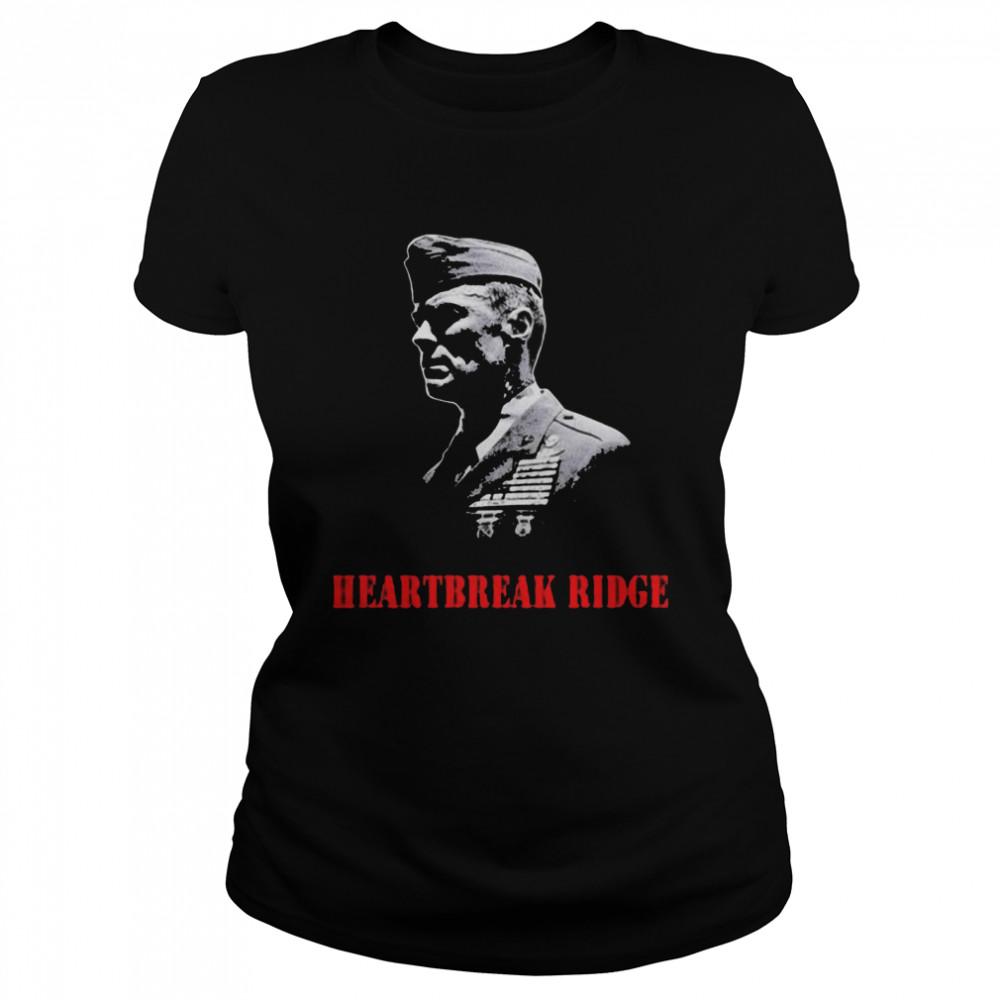 Heartbreak Ridge Veterans  Classic Women's T-shirt