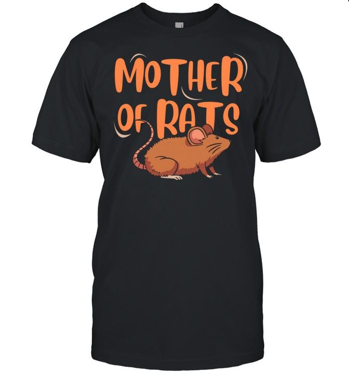 Mother Of Rats Pet Rat Shirt