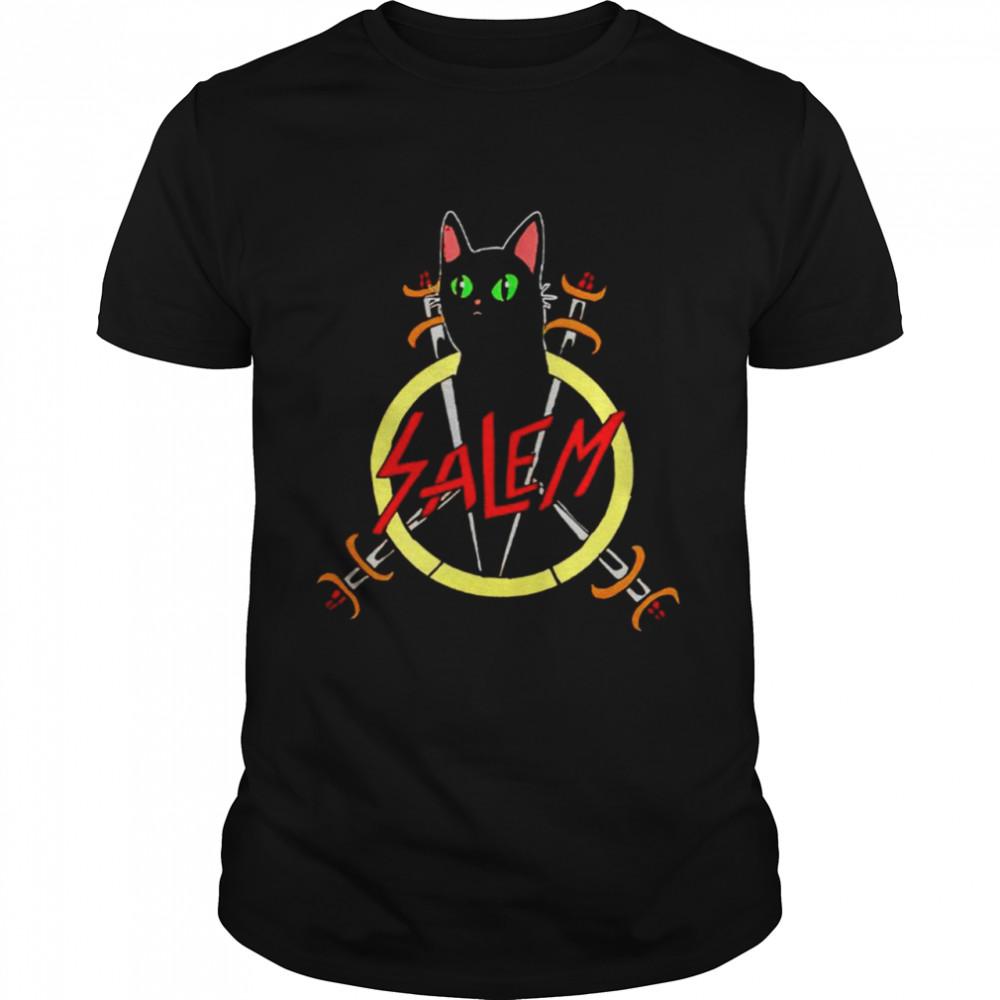 Salem the Slayer cat shirt
